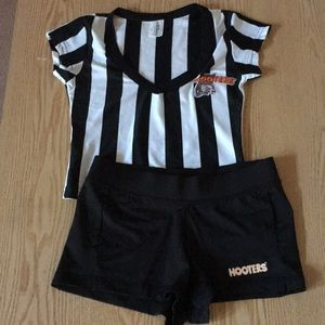 New Women's Hooters Referee Outfit Costume Size XS